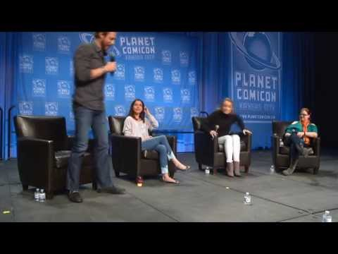 Planet Comicon 2015 LOST GIRL Panel