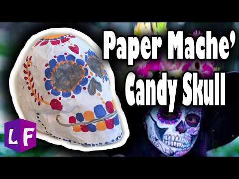 DIY Candy Skull Decoration