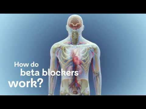 Beta blockers - how do they work - side effects - types