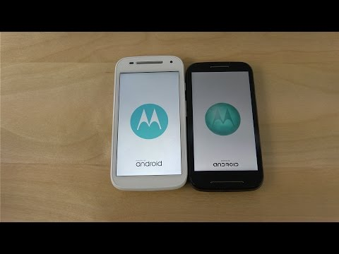 Motorola Moto E 2015 vs. Moto E 2014 - Which Is Faster?