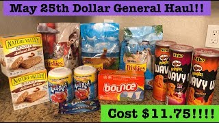 Dollar General Extreme Couponing Haul May 25th! Only Cost $11.75 for 11 items!!!