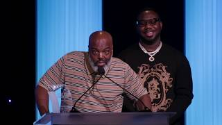 """CEO Pierre """"Pee"""" Thomas and COO Pierre """"Pee"""" Thomas  at Culture Creators"""