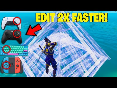 The SECRET Setting To Edit 2X FASTER on Fortnite! (Console & PC!)