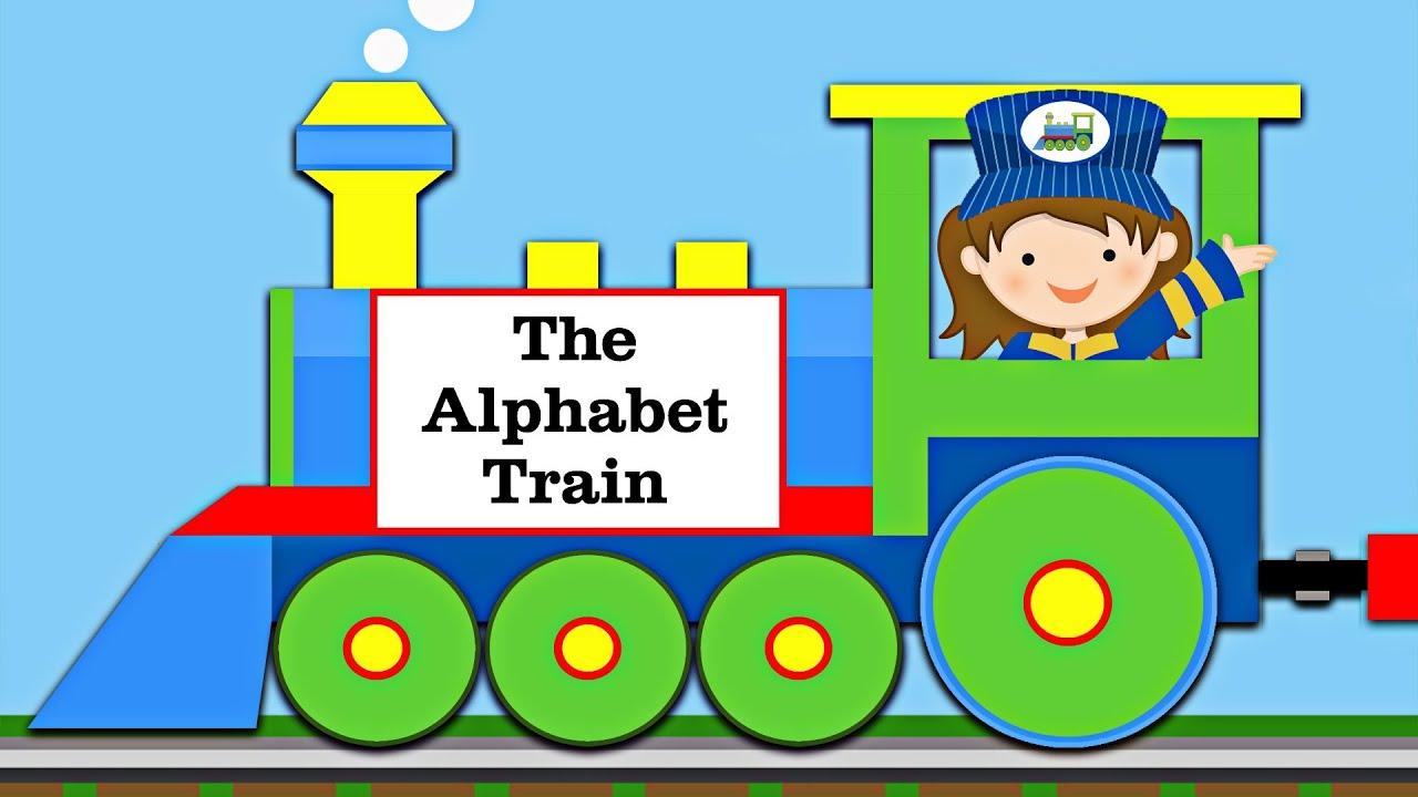 The ABC Alphabet Train