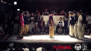 HURRICANES BATTLE-ISM 2013 TAIWAN | POPPIN CREW BATTLE - MORENO FUNK SIXERS( JAPAN ) VS TPEC