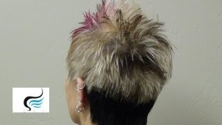 How To Haircut Ladies (Faux Hawk Pixie Hairstyles)
