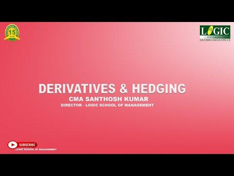 Derivatives & Hedging   CMA Santhosh Kumar