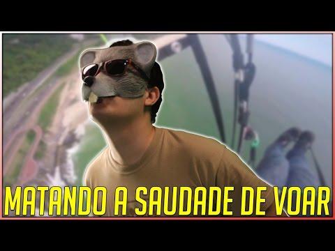 CHEGANDO NO RIO DE JANEIRO EU FUI MATAR A SAUDADE DE VOAR
