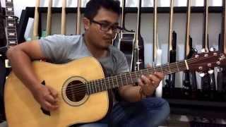 Belajar Teknik Melodi Gitar Lagu Batak