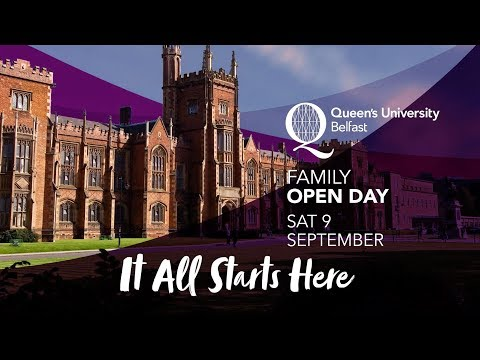 Start Your Journey at Queen's Family Open Day
