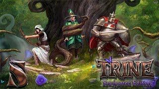 Trine: Enchanted edition прохождение на геймпаде часть 5 Ныряем под водой