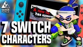 7 NEW Smash Bros Switch Characters That Should Be Added!