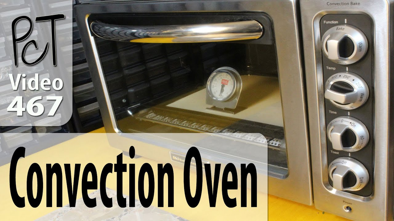 Baking Polymer Clay In A Convection Oven Youtube