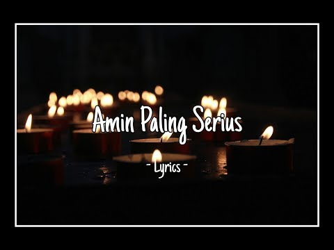 amin-paling-serius-(lirik)---sal-priadi-ft.-nadin-amizah