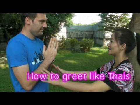 Thai culture : How to greet in Thai