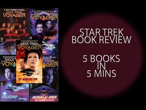 5 Star Trek book reviews in 5mins