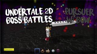 ROBLOX Undertale 2D Boss Battles: Verfolger W/BowTiedPony (und STM)