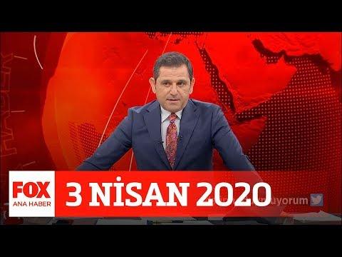 Toplam Vaka Sayısı 20 Bine Dayandı... 3 Nisan 2020 Fatih Portakal Ile FOX Ana Haber
