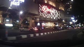 carVLOG   suasana malam hari jalan TUNJUNGAN surabaya