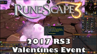 Runescape 3 Valentines Event Part 1 Guide 2017 - How to Gain Reputation