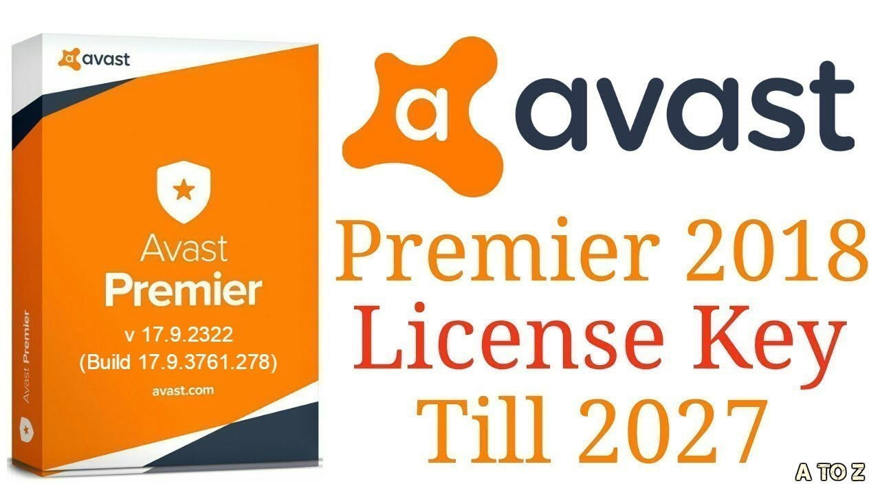 download avast premier license file 2018
