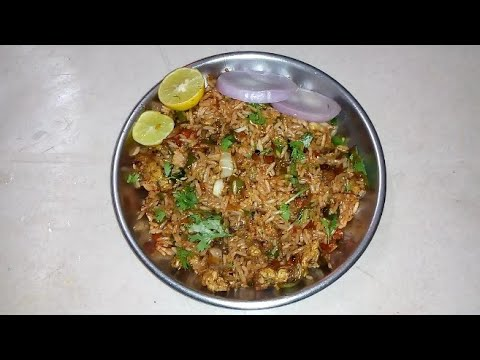How To Make Spicy Egg Fried Rice// Easy Method
