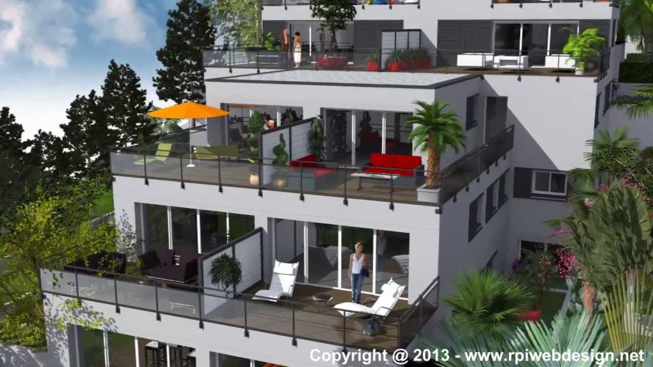 residence saint anne logements haut de gamme toulon youtube. Black Bedroom Furniture Sets. Home Design Ideas