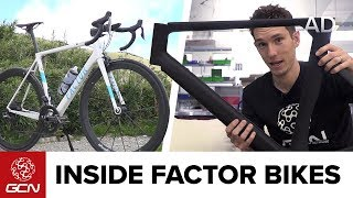 Inside Factor Bikes | GCN Tours The Factor HQ
