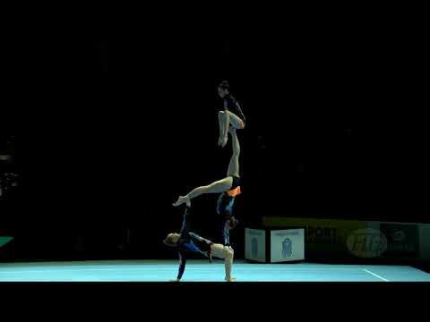 Austria (AUT) - 2018 Acrobatic Worlds, Antwerpen (BEL) - Combined  Women's Group