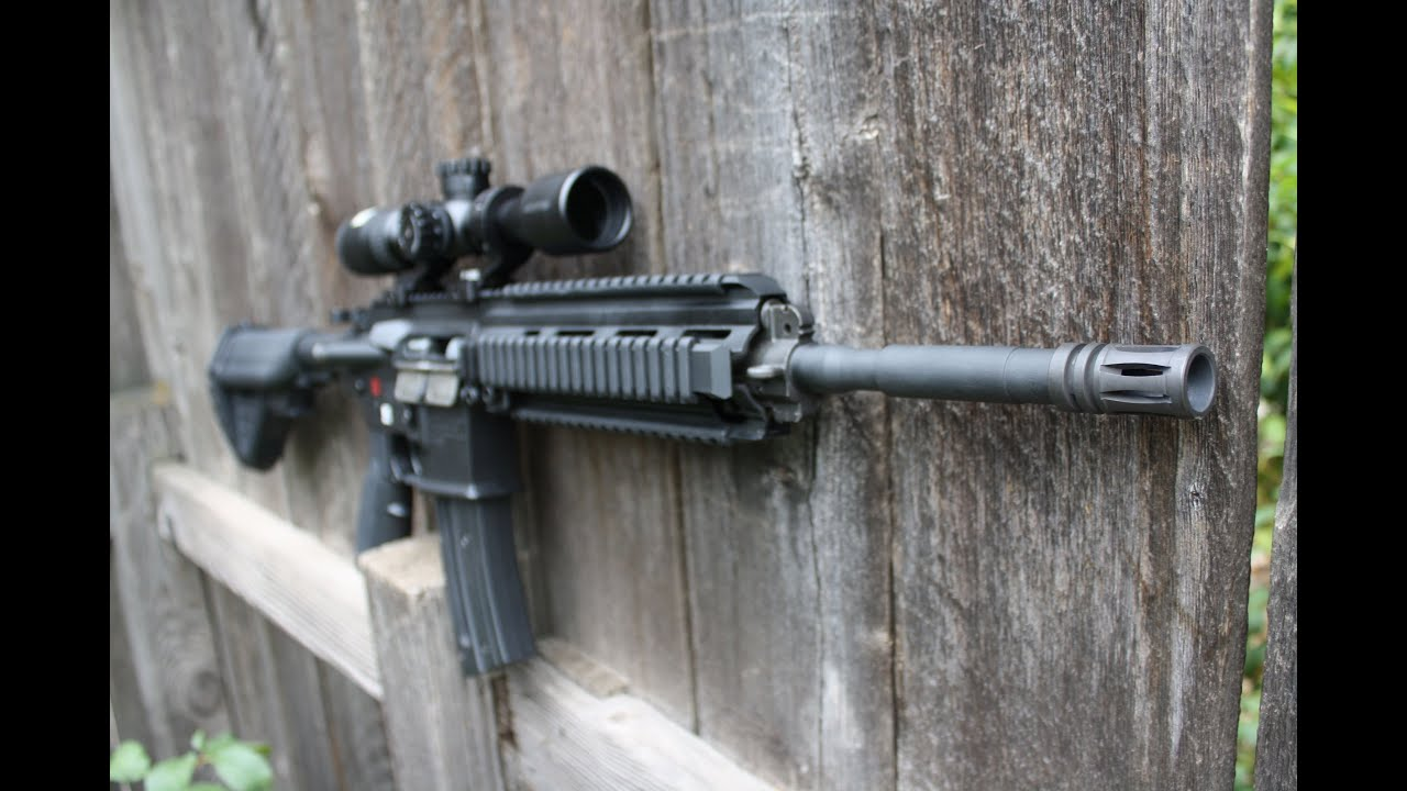 HK416 22 Tactical Review