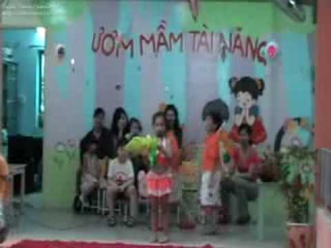 Mam non Than Dong Dat Viet: Be chuc cac co 20-11.flv