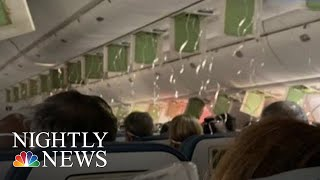 Delta Plane Quickly Descends 30,000 Feet In Controlled Descent|  NBC Nightly News