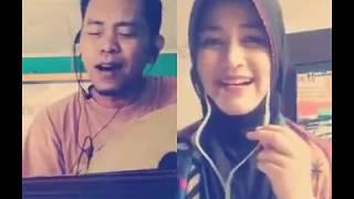Video Smule Hasbi Santri Cantik Musik Gambus duet pakai alat musik download MP3, 3GP, MP4, WEBM, AVI, FLV September 2018