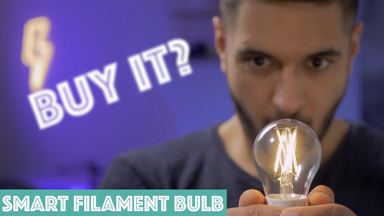 Buy TP-Link Kasa Filament Smart Bulb, Warm Amber online in