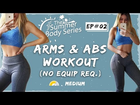 lean-arms-workout-|-toned-arms-and-abs-exercises-|-at-home-workout