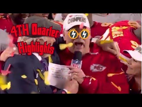 Super Bowl LIV 4th Quarter Highlights| 49ers Vs Chiefs | NFL