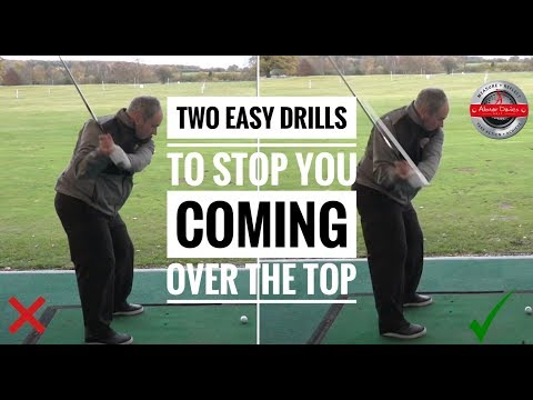 Two Easy Drills To Stop You Coming Over The Top