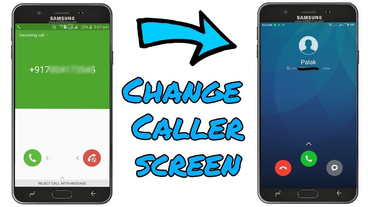 Change Caller Screen Any Samsung Phones || Make Look Awesome 😍😍