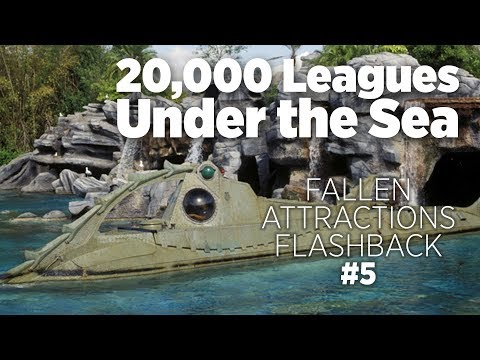 20,000 Leagues Under the Sea: Submarine Voyage - ITM Fallen Attractions Flashback & Full Ride Video