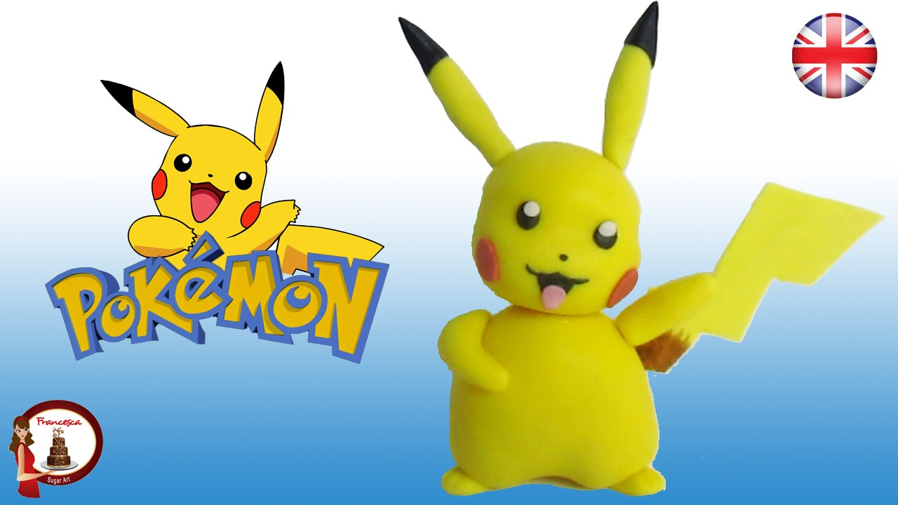 Pokémon Pikachu Cake Topper Tutorial - YouTube