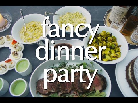 Dinner Party Tonight: Fancy Dinner Party