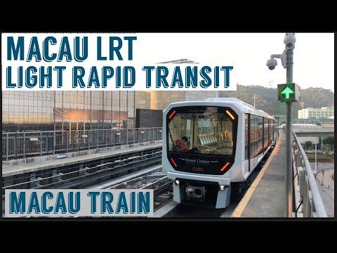 Macau LRT   Macau Light Rapid Transit   Macau Train