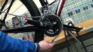 Ketting repareren en monteren derailleur fiets