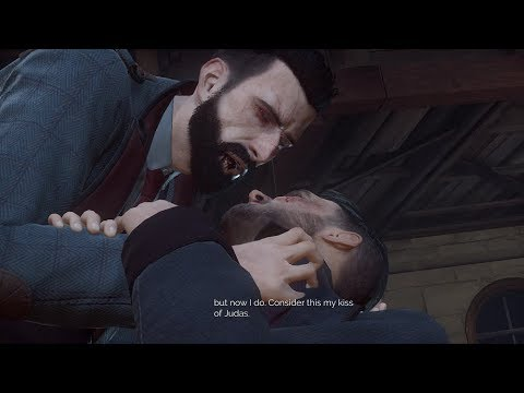 Vampyr - KISSING Geoffrey McCullum The Vampire Hunter And Reunion Scene