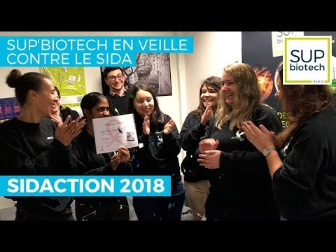 Sup'Biotech en veille contre le SIDA - Sidaction 2018
