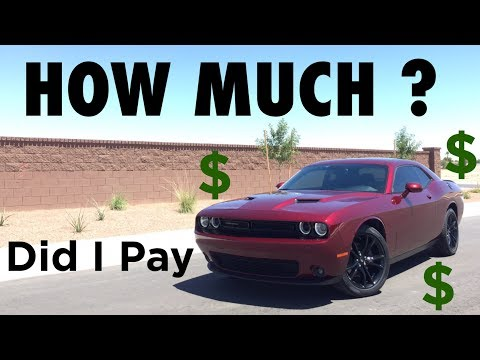 How Much did a 19-year-old with NO Credit Pay for a 2017 Dodge Challenger SXT Plus