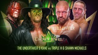 Huge Match LEAKED : WWE Crown Jewel 2018 Highlights Match Card Date Predictions !