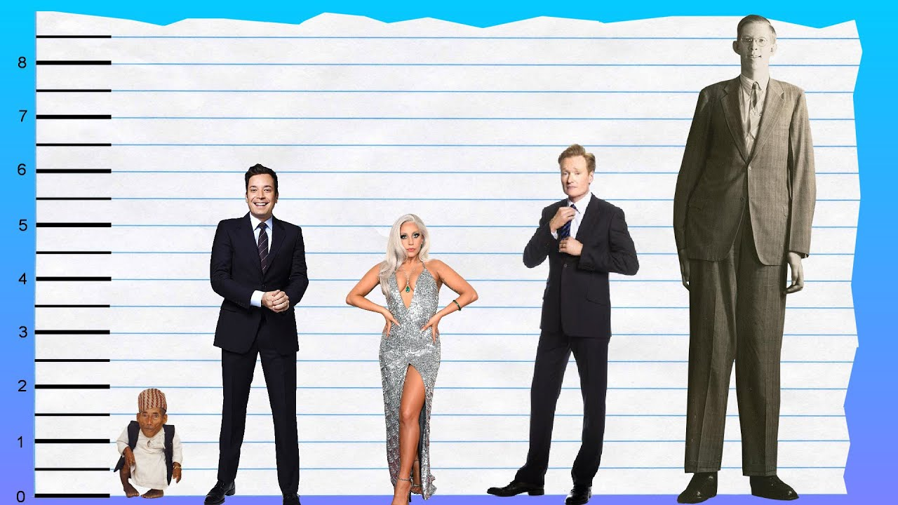 How tall is jimmy fallon height comparison youtube