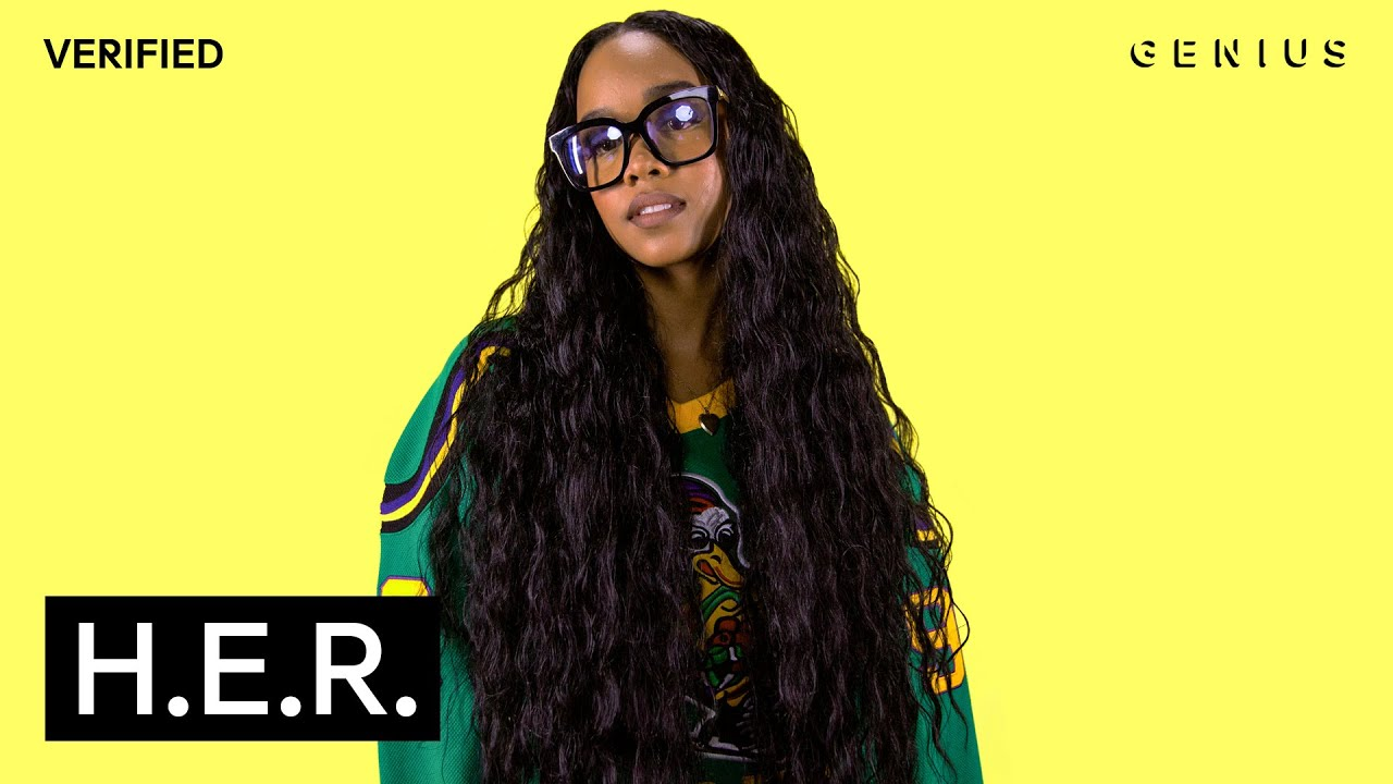 """H.E.R. """"Back of My Mind"""" Official Lyrics & Meaning"""