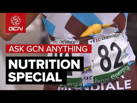 Cycling Nutrition Explained With Professor Jeukendrup | Ask GCN Anything About Cycling
